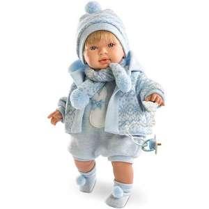 LLorens: Miguel fiú Baba kötött ruhában 42cm 30398938