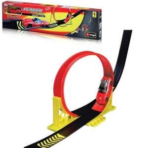 Bburago: Ferrari single loop játékszett 30481085