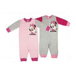 Disney overálos Pizsama - Minnie Mouse #rózsaszín-szürke 30496181 Gyerek pizsama, hálóing