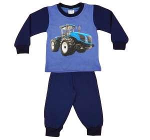 Fiú Pizsama - Traktor #kék 30479149 Gyerek pizsama, hálóing