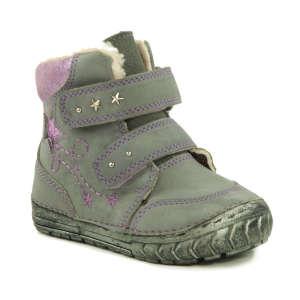 D.D. Step Baby Lány Száras Téli Cipő #szürke-lila 19 30441178