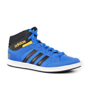 Adidas VS Hoops Mid K Junior Fiú Utcai Cipő #kék-fekete-sárga 30432174