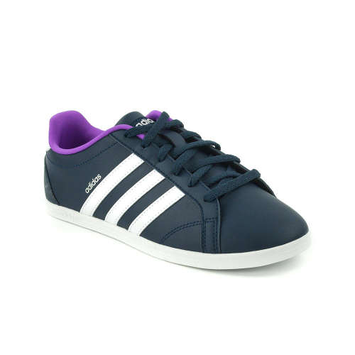 finest selection c4f5e d8c50 Adidas VS Coneo QT W Női Utcai Cipő sötétkék-fehér-lila  Pep