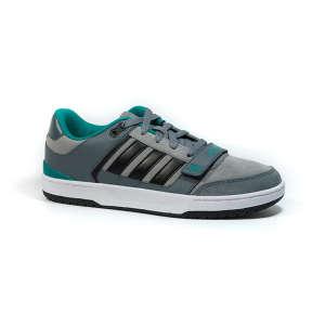 Adidas Curb St Férfi Utcai Cipő  szürke-fekete-zöld caba31345a