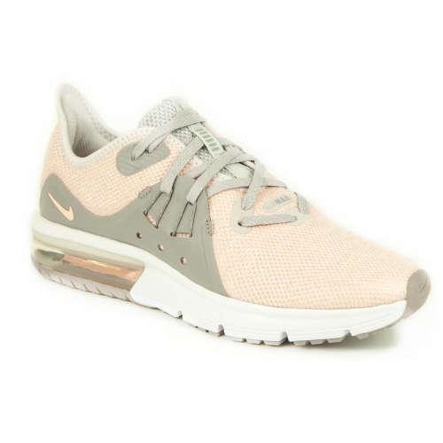 Nike Air Max Sequent 3 Gs lány Sportcipő  bézs-szürke  5611ffabdb