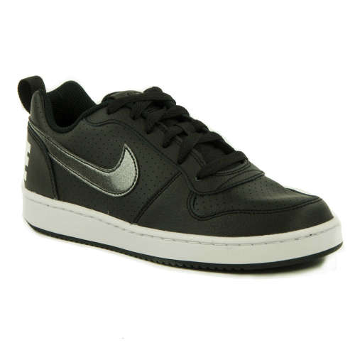 Nike Court Borough Low Gs Utcai Cipő  fekete  8968d5602e