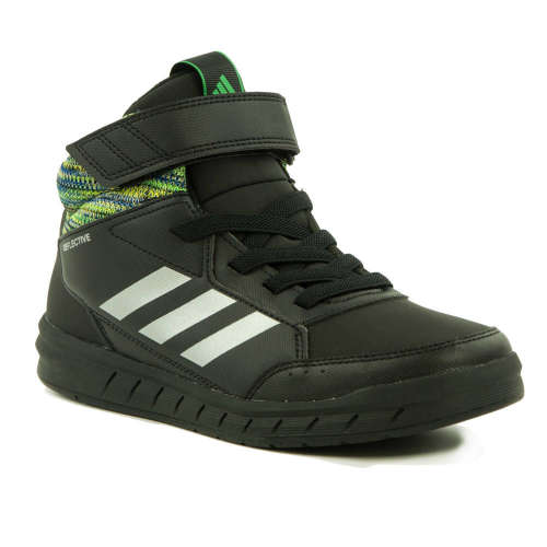 Adidas Altasport Mid BTW K Junior Száras Sportcipő  fekete-ezüst ... 56377b51d1
