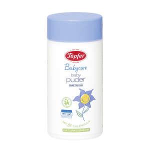 Töpfer Babycare hintőpor bio körömvirággal, talkum-mentes 75g 30363603 Hintőpor