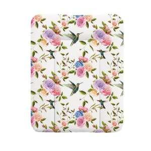 Ceba Flora&Fauna puha Pelenkázó lap 50x70cm - Virág #fehér-rózsaszín