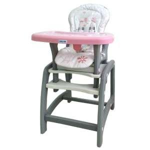 Baby Mix átalakítható Etetőszék #rózsaszín 30364579