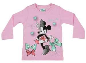 Disney Hosszú ujjú póló - Minnie Mouse #rózsaszín 30488549 Gyerek hosszú ujjú póló