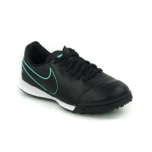 Nike Tiempox Legends Tf Junior Turfcipő #fekete-türkiz 38,5 30408201