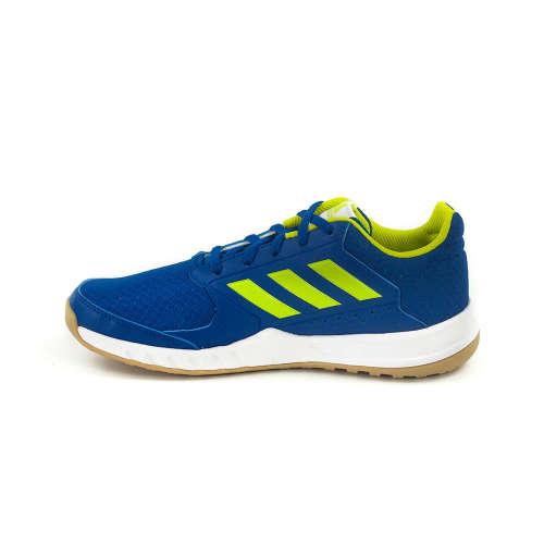 ... Adidas FortaGym K Junior Fiú Teremcipő  kék-neon ... c7f5f49c2b