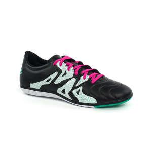Adidas X15.3 IN Leather Férfi Teremcipő  fekete-fehér-pink 44 2 86271a6698