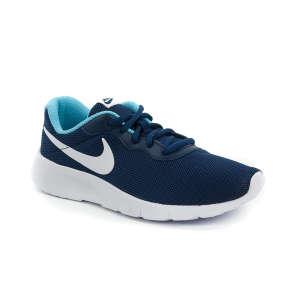 Nike Tanjun Gs Futócipő #sötétkék-fehér-kék 30366983