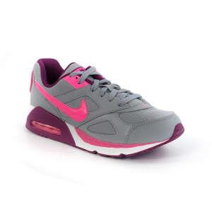Nike Air Max Ivo Gs Utcai Cipő #szürke-pink-bordó 30367366