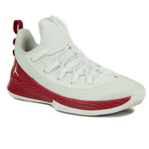 Nike Air Jordan Ultra Fly 2 Low Férfi Kosárlabda Cipő  fehér-piros ... 4dda66eeb3
