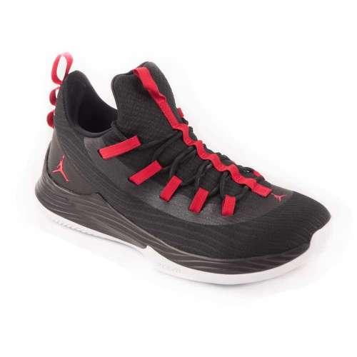 Nike Air Jordan Ultra Fly 2 Low Férfi Kosárlabda Cipő  fekete-piros ... 4ebeab85b7
