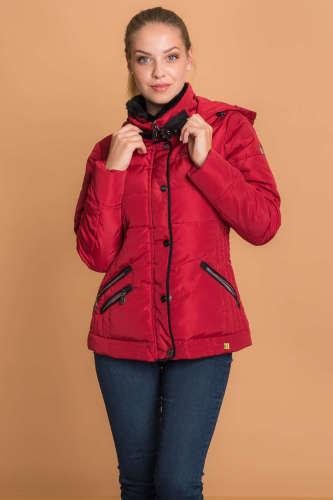Budmil Női dzseki  piros  51f79eb1df