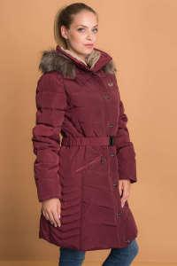 Budmil Női hosszú dzseki #bordó  30368363