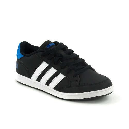 Adidas Neo Hoops Mid K Fiú Sportcipő  fekete-fehér-kék  a42b925987