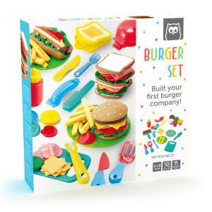 Eurekakids - Gyurmaformázó készlet - hamburger készítő 30403851