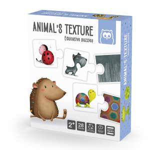 Eurekakids - Montessori Puzzle - állatok kültakarója 30405428 Fejlesztő játék ovisoknak