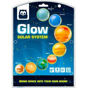 Eurekakids - Glow Solar System 30405570 Tudományos és felfedező játék