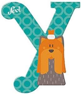 Sevi Fa betű állatos - Y #zöld 30401150