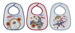 Baby Care Előke - 3db #kék-piros 30401168 Előke, büfikendő