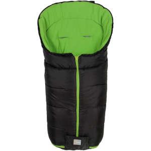 Fillikid Bundazsák Eco Big babakocsiba 55x100cm #fekete-zöld 30401260 Lábzsák és bundazsák
