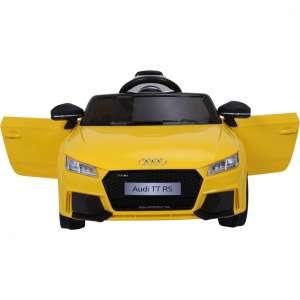 Audi TT RS Roadster Elektromos autó távirányítóval #sárga