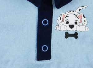 Disney 101 Kiskutya fiú hosszú ujjú, galléros kombidressz #kék (méret: 80) 30402106