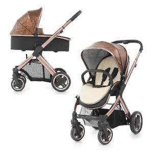Oyster 2 Chassis Copper Fabric 2in1 Babakocsi  barna-fekete a83bbf1457