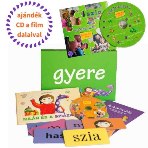 SzóKiMondóka játékcsomag: Óvoda + ajándék CD a kisfilm dalaival