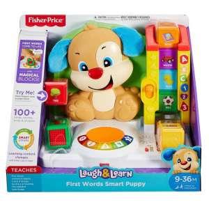 Fisher Price Első szavak kutyusos tanulóközpont 30494077 Fejlesztő játék bölcsiseknek