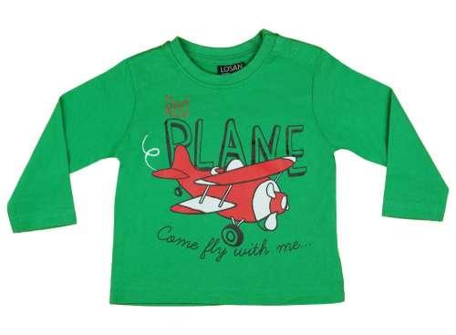 dcee72425a Losan Hosszú ujjú póló - Repülő #zöld | Pepita.hu