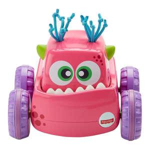 Fisher Price Felhúzható szörnyjárgányok #rózsaszín 30421652 Fejlesztő játék babáknak
