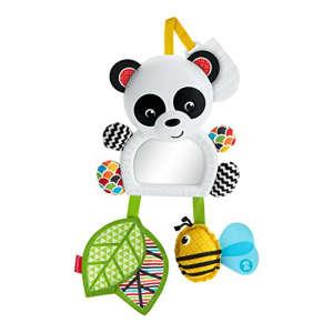 Fisher Price Felcsíptethető játék - Panda #fehér 30421660 Babakocsi, kiságy játék