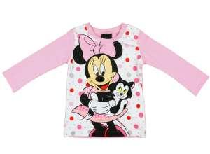 df6c682aef Disney Hosszú ujjú póló - Minnie Mouse #fehér-rózsaszín 30486037. 2 kép