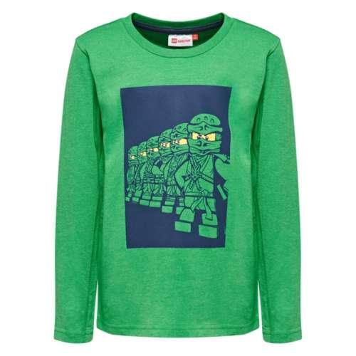 Hosszú ujjú póló - Lego Ninjago #zöld