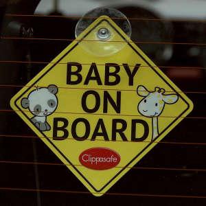 Clippasafe Baby on Board jelzés 30422820 Baby on board jelzés