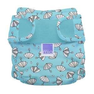 BambinoMio MioSoft Mosható Pelenka külső - Esernyő #kék 30422943