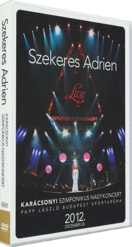 Szekeres Adrien - Karácsonyi szimfonikus nagykoncert 2012.