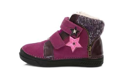 D.D.Step bélelt lány Gyerekcipő #lila 31-36