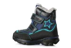 D.D.Step thermo béléses fiú Gyerekcipő #kék 24-29 30425184