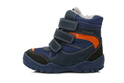 D.D.Step thermo béléses fiú Gyerekcipő  kék-narancs 24-29  6ccfbc471f
