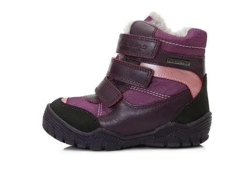 D.D.Step thermo béléses lány Gyerekcipő #lila 24-29