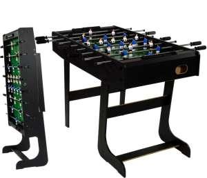 BELFAST Asztali foci 121x101x79cm #fekete