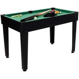 Többfunkciós Játékasztal - Multi 15 #fekete